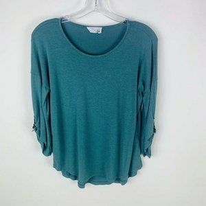 Olive and Oak Womens Top Size XS 3/4 Sleeve